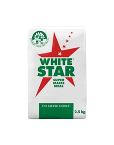 groceries: White Star Super Maize Meal 2.5Kg!
