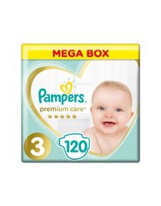 groceries: Pampers Premium Mega Pack, Midi 120s!