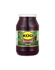 groceries: Koo Beetroot Sliced Jars 780G!
