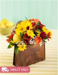 flowers: Handbag of Flowers!