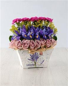 flowers: Pretty Pink Mixed Arrangement!