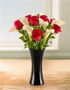 flowers: Pure passion Arum Arrangement!