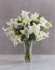 Picture of Elegant White Lilies!