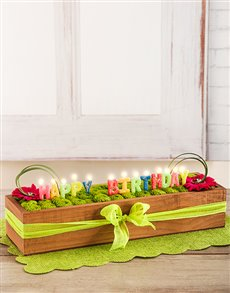 flowers: Birthday Cake Crate!