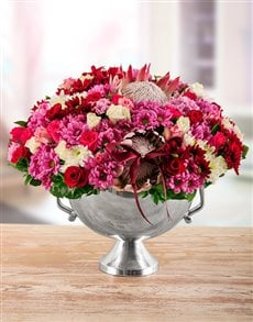 flowers: Edith Venter Enchanting Elegance Mixed Arrangement!