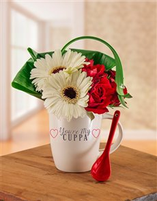 flowers: You are my Cuppa Flower Mug!