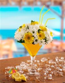 flowers: Lemon Drop Flower Cocktail!
