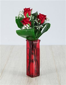 flowers: You are One in a Million Red Rose Vase!