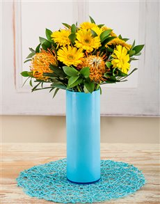flowers: Amor Vittone Chase the Blue Away Arrangement!