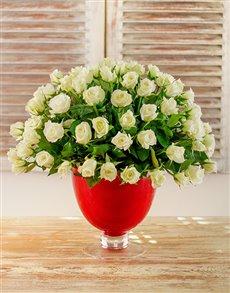flowers: Whispers of White Arrangement!
