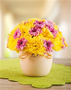 flowers: Happy Arrangement!