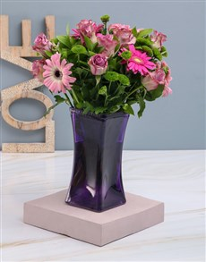 flowers: Pink and Purple Delight!