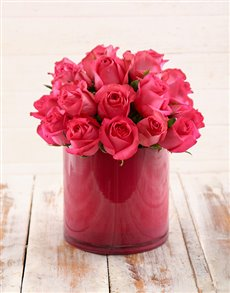 flowers: Perfect in Pink Vase!