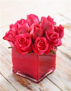 flowers: Petite Pink Floral Arrangement!