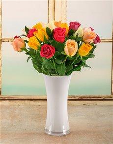 flowers: Bright Summer Day Arrangement!