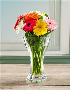 flowers: Magic Mixed Crystal Vase!