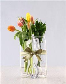 flowers: Tulips Lovers Vase!