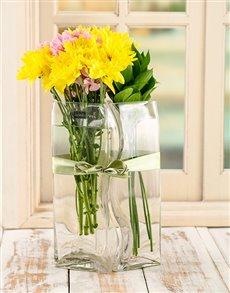 flowers: Sunny Lovers Vase!