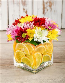 flowers: Bright Orange Delight!