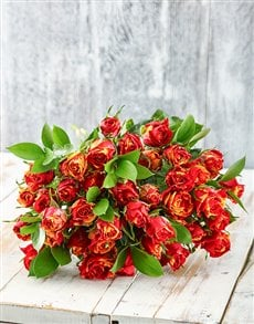 Flowers: Sweet Embrace Cluster Rose Bouquet!