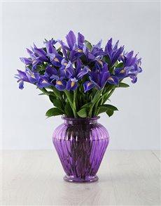 flowers: Iris of Love Arrangement!