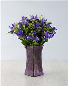 flowers: Loving Iris Arrangement!