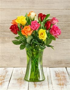 flowers: Colours of Love Arrangement!