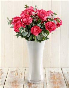 flowers: Cerise Surprise Arrangement!