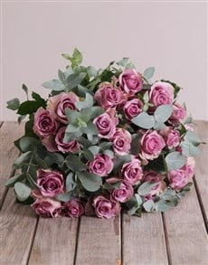 flowers: Lilac Passion Bouquet!