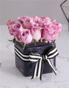 flowers: Pastel Purple Arrangement!