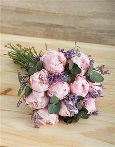 flowers: Pretty Peonies Bouquet!