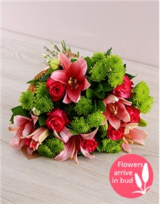 flowers: Lily Rose Bouquet!