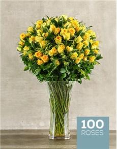 flowers: Yellow Rose Abundance!