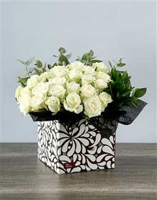 flowers: Craft Box of White!
