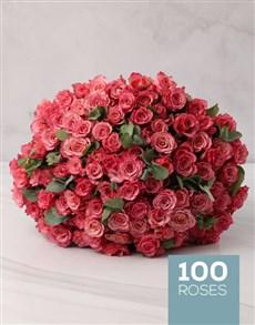 flowers: Lusciuos Pink Rose Bouquet!