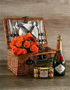 gifts: Orange Affair Picnic Basket!