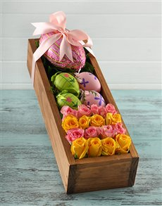 gifts: Easter Egg and Flower Box!