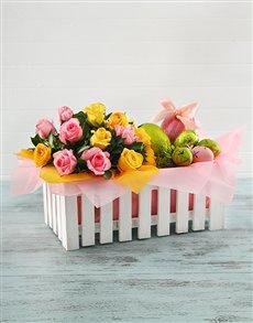 gifts: Easter Picket Fence Basket!