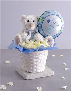 gifts: Baby Boy Fantasy Basket!