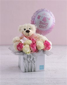 gifts: New Baby Rose Gift Box!
