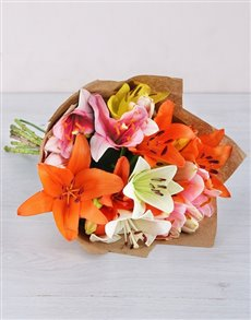 best-sellers: Colourful Lily Mix!