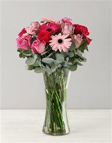 flowers: Cotton Candy Flower Arrangement!