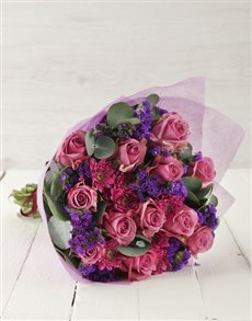 flowers: Lavish Lilac Bouquet!