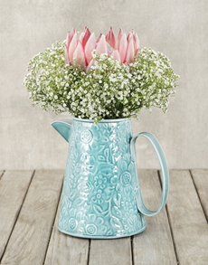 flowers: King Protea & Million Star Jug!