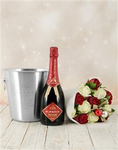 Festive Roses, JC Le Roux Red & Ice Bucket!