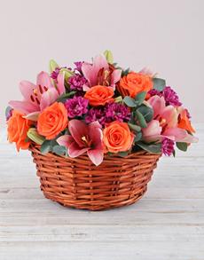 flowers: Joy To The World Basket!