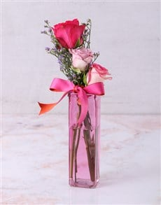 gifts: Coloured With Love Rose Trio!