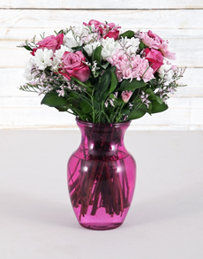 flowers: Pink Perfection Vase!