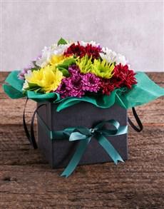 flowers: Sprays in a Black Box!