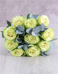 flowers: Cream Ethiopian Rose Bouquet!